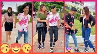 Moh Faruk dan Puri SP TikTok Couple Bikin Baper 2021