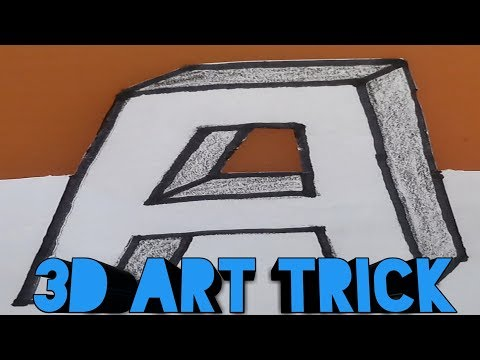 how to draw 3d shapes|3d art for kids|3d art drawing |drawing 3d art with pencil