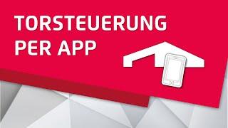 ZAPF Connect - Steuerung von Garagentor und Garagen-Lüftung per App