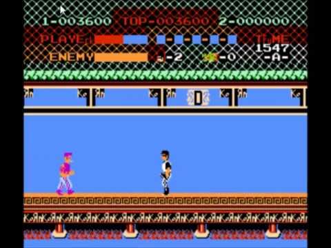 NES Hacked ROMs: KORN-FU (KUNG-FU) - YouTube