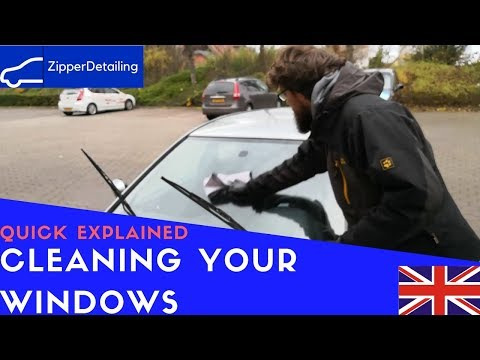 Clean your Windows without streaks - Quick Explained -Zipper-Detailing
