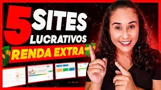 RENDA EXTRA NA INTERNET: 5 Sites QUE EU USO Para GANHAR DINHEIRO Na Internet! (FUNCIONA DE VERDADE)