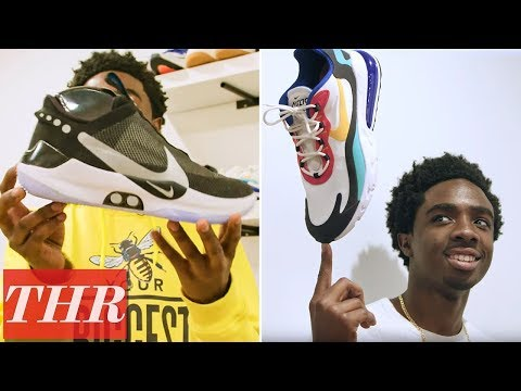 'Stranger Things' Star Caleb McLaughlin's Shares His Epic Sneaker Collection | Sneakerheads