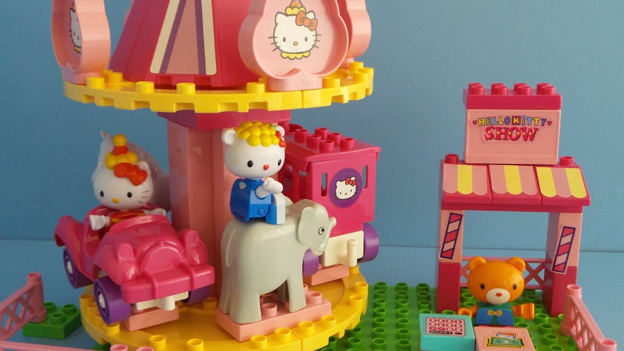 Hello kitty von duplo lego auspacken youtube - Lego hello kitty maison ...