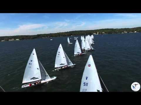 4k 2015 E Blue Chip 50th Anniversary Regatta Aerials Drone Highlights 2
