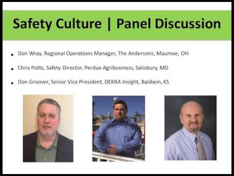 Safety Culture Panel Discussion - Don Wray, Chris Potts, Don Groover