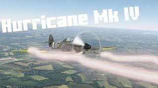 War Thunder Gameplay - Hurricane Mk IV - War Thunder Realistic Battle