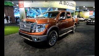 NISSAN TITAN V8 4X4 PICK UP PLATINUM RESERVE + XD MIDNIGHT + PRO4X MODEL 2018 WALKAROUND + INTERIOR