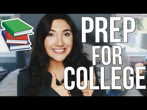 HOW TO GET ORGANIZED FOR COLLEGE | How To Prepare For College