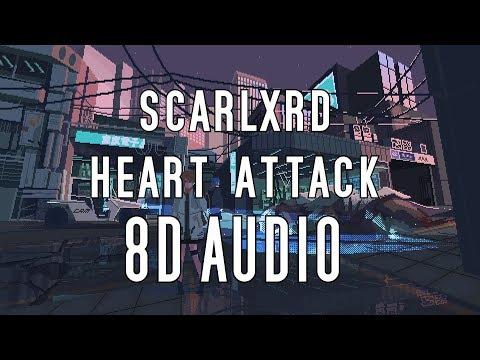 scarlxrd - HEART ATTACK (8D AUDIO)