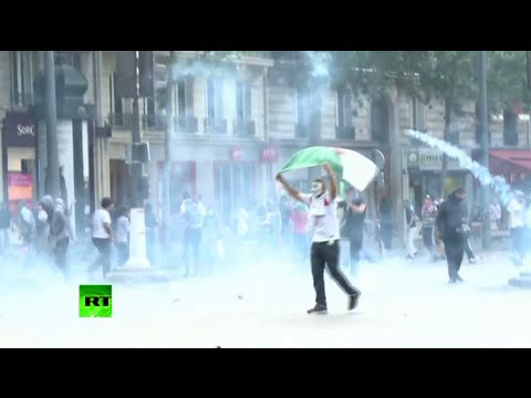 Gaza Fury: Protesters clash with police in Paris over IDF op
