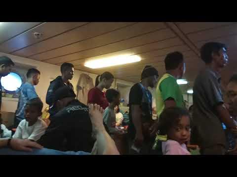 Antrian Makanan di Kapal KM. Gunung Dempo mudik 2018 Mp3