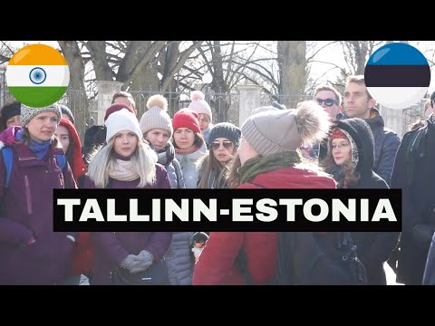 BEAUTIFUL TALLINN CITY - Free Walking Tour - #ESTONIA #TALLINN #DESITRAVELVLOG #EUROPETRIP PART-2