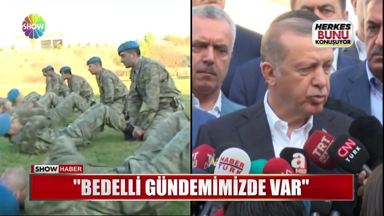 Cumhurbaşkanı Erdoğan: \