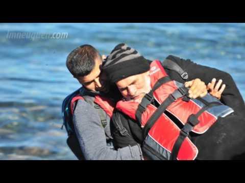 Matías habló sobre la llegada de los refugiados a Grecia: No hay miradas de esperanza
