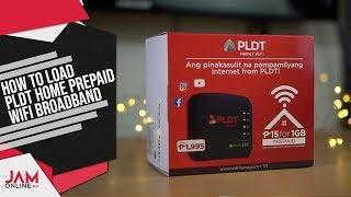 How to load the PLDT Home Prepaid WiFi