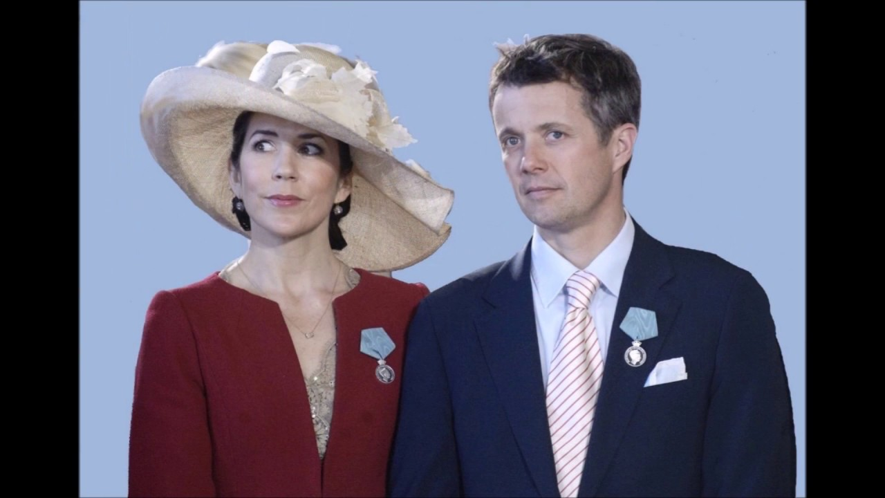 Crown Princess Mary and Crown Prince Frederik of Denmark ...