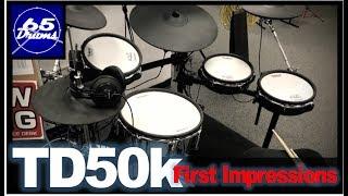 Roland TD50k First Impressions