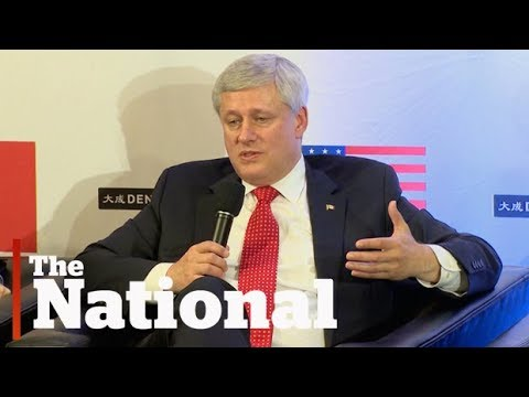 Stephen Harper blasts Trudeau government's handling of NAFTA negotiations