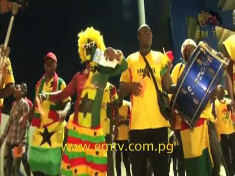 Cameroon Fans Celebrate Progression to African Nations Cup Finals