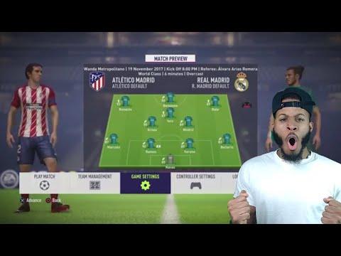 FIFA 18 Real Madrid Career Mode Ep 7 - HUGE MADRID DERBY!