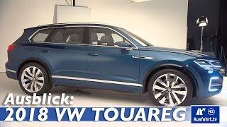 2018 Volkswagen VW Touareg 3 / T-Prime Concept GTE - Sitzprobe, Ausblick, Spekulationen Ausfahrt.tv
