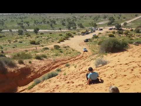 Lexus in the Simpson Desert 2016