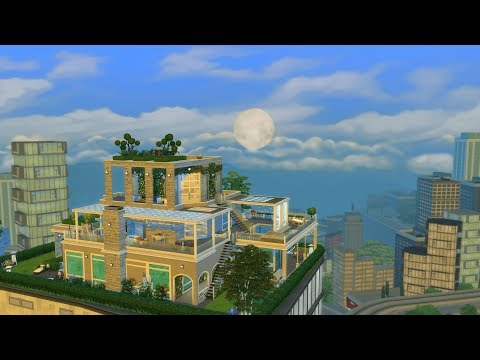 The Sims 4 Speed Build - Uptown Penthouse