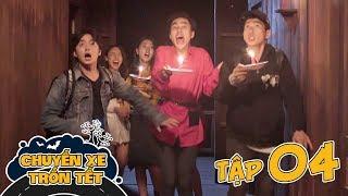 CHUYẾN XE TRỐN TẾT | TẬP 4 : Khách Sạn Bị Nguyền Rủa | Phim Hài Tết LA LA SCHOOL 2020