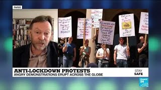 Covid-19 - Anti-lockdown protests: angry demonstrations erupt across the globe