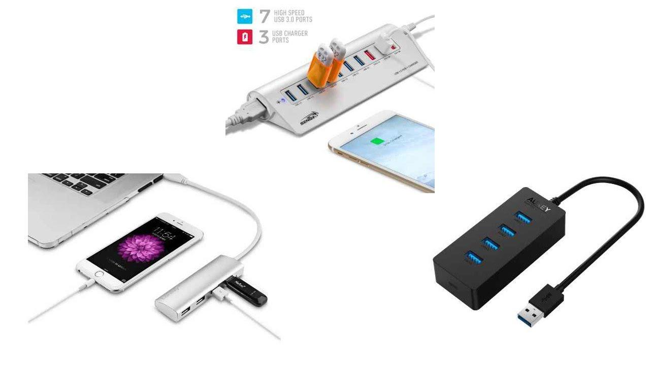 Top 5 USB Hubs of 2017