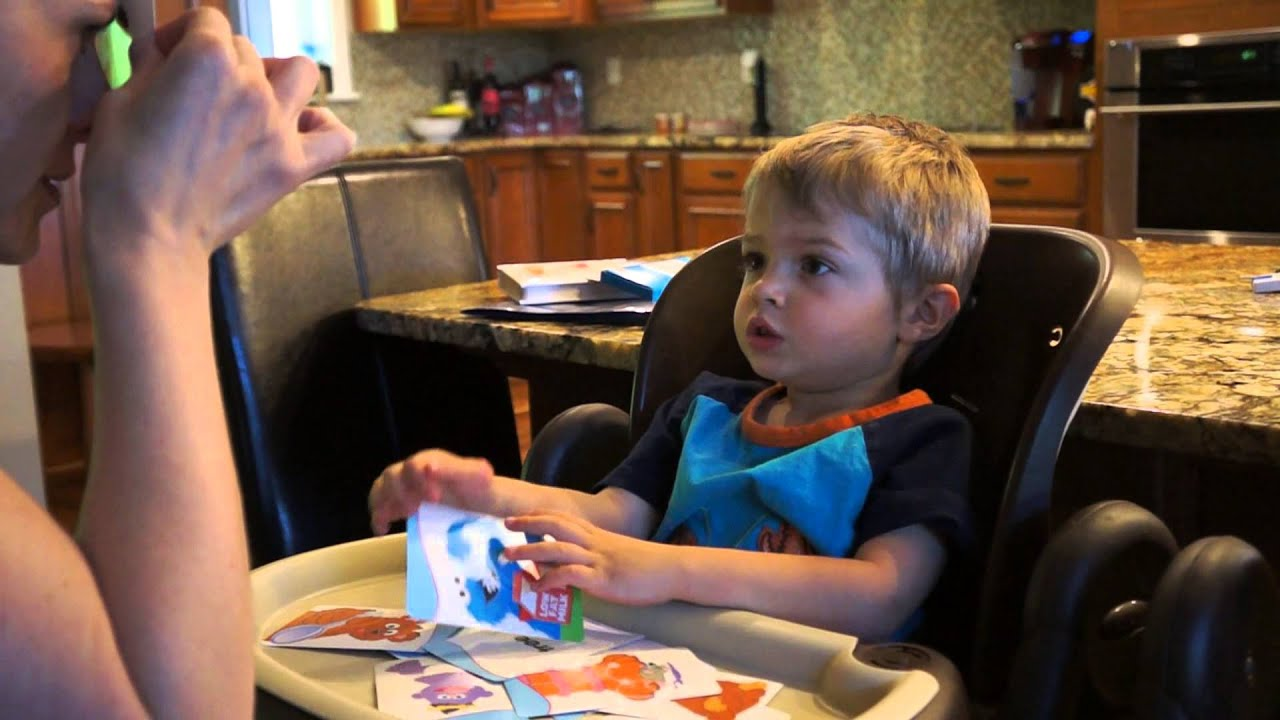 3 year old autistic boy reading