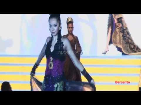 Anne Avantie with Miss China & Putri Indonesia fashion show