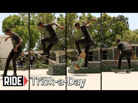 How-To Skateboarding: Frontside Bigspin With Marquis Preston