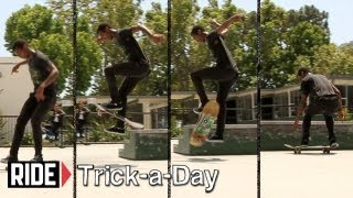 How To Skateboarding: Frontside Bigspin With Marquis Preston