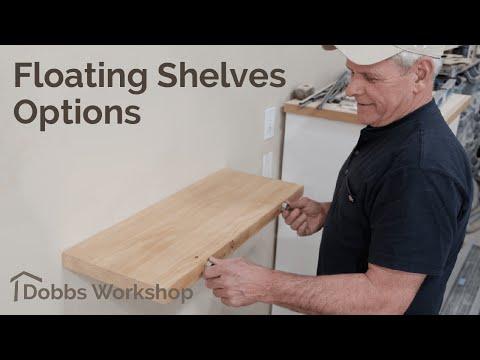 Strong Floating Shelf Design Options