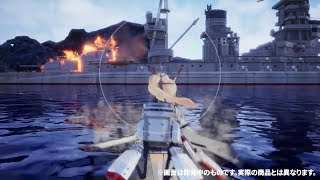 "Trailer Game ""Azur Lane Crosswave"" - For PS4"