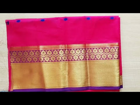 Diwali special paithani blouse back neck design cutting and stitching /blouse designs