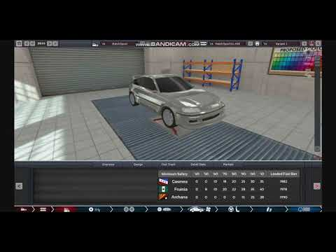 Automation the car company tycoon game B170608 HONDA HATCHBACK SPORT High Efficiency Engines