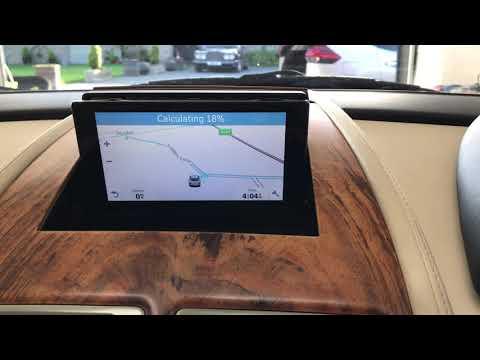 Aston Martin Satellite Navigation upgrade