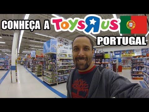 Conheça A Toys R Us De Portugal! [Dicas De Viagem Europa] Brinquedos Para Meninas E Meninos.