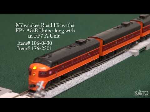 Kato Product Preview October 2017 - N Milwaukee Road Olympian Hiawatha