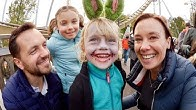 Halloween at Liseberg Amusement Park VLOG