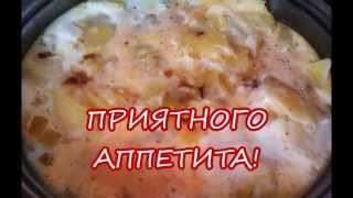 Испанская тортилья с картофелем.