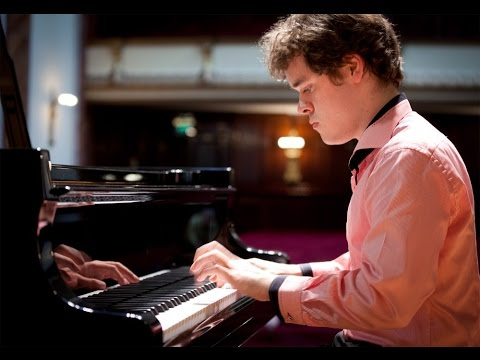 Benjamin Grosvenor plays Bach, Chopin, Rachmaninoff - live 2012