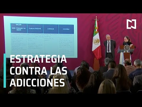 AMLO refuerza estrategia contra adicciones, campaña acaparará medios - Despierta