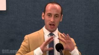 Stephen Miller Keynote to the 2015 Katz Award Ceremony