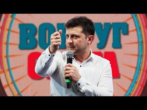 Volodymyr Zelenski, el humorista que podría ser presidente de Ucrania