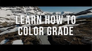 How to Color Grade Like a Professional