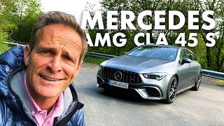 Mercedes AMG CLA 45 S Shooting Brake   421 PS   Drift Mode   Matthias Malmedie